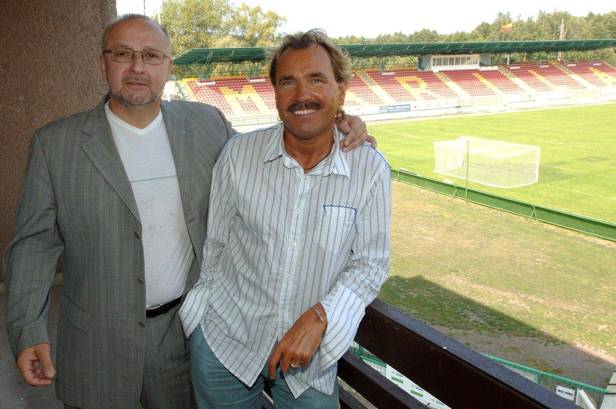 Ivan Horník a Jaroslav Starka.