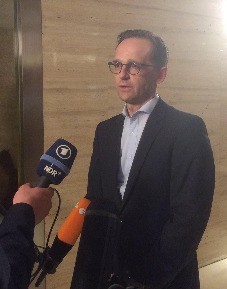 Ministr spravedlnosti Heiko Maas si myslí, že zločiny během silvestrovské noci byly pečlivě naplánovány.