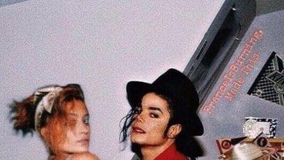 Paris Jackson se svým otcem Michaelem.