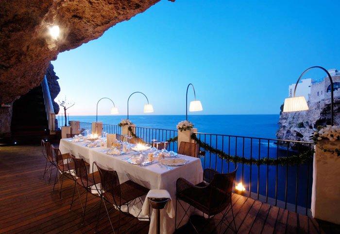 Ideální místo na dokonalou romantickou večeři.