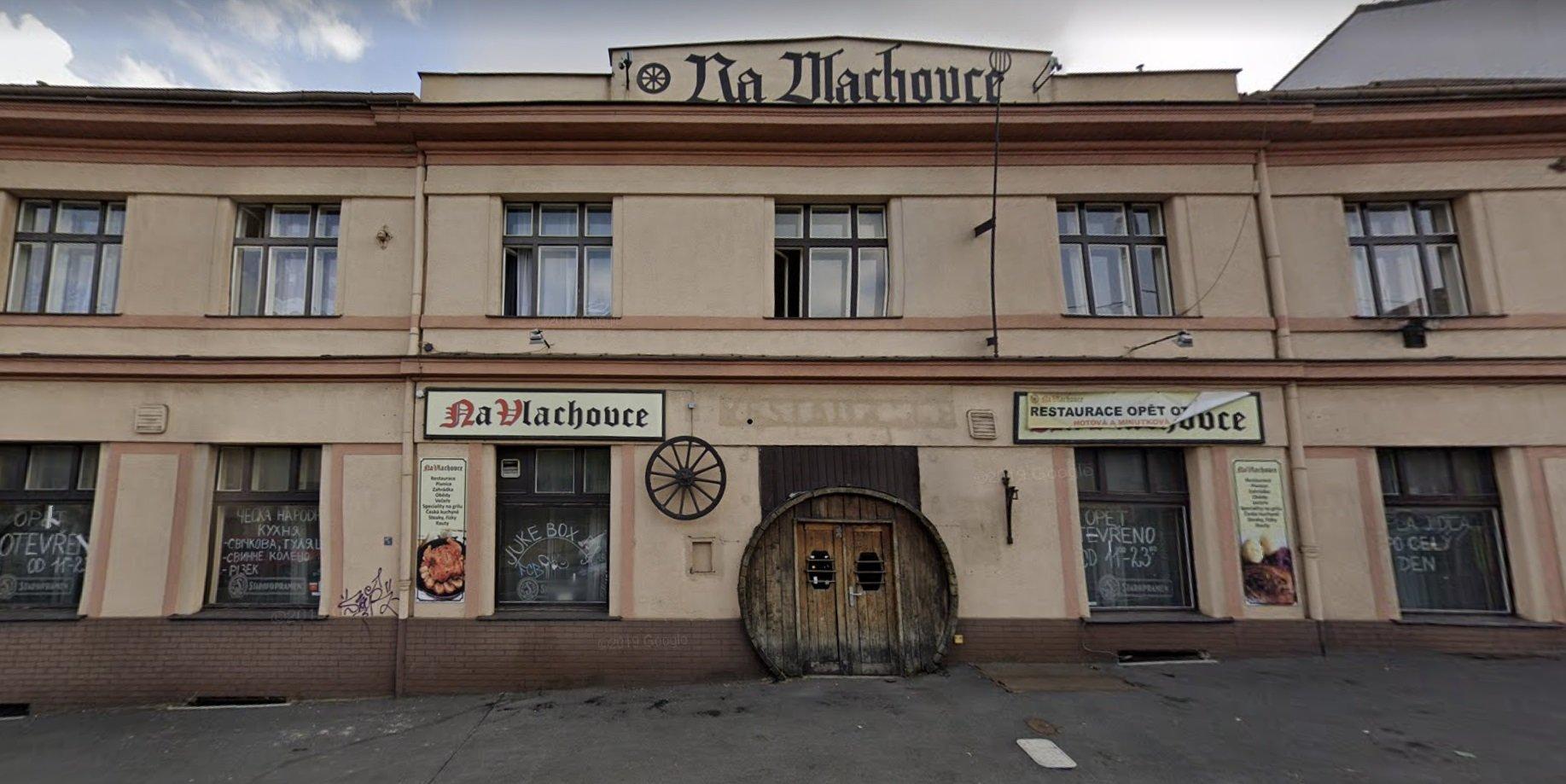 Dům, v kterém se natáčel pořad Sejdeme se na Vlachovce.