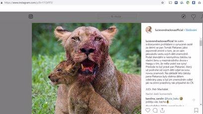 Lucie Vondráčková sdílela vzkaz manželovi od právníka
