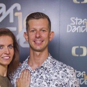 Nora Fridrichová a Jan Kohout. Taneční pár StarDance 2019.