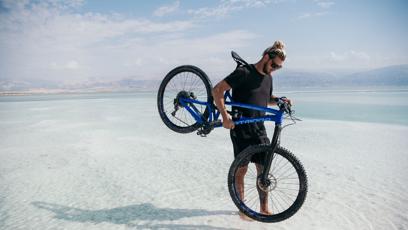 Tomáš je zkušený a velmi talentovaný  freestylový závodník na kole.