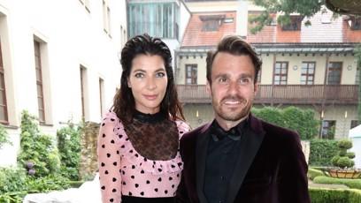 Leoš Mareš a jeho žena Monika.